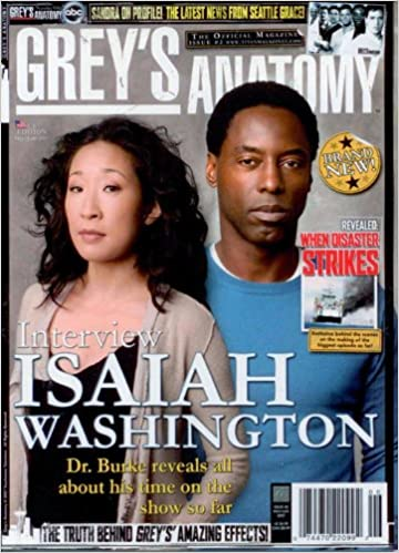 Greys Anatomy The Official Magazine 2 Titan 0799975250038