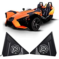 Polaris Slingshot 6.5 Waterproof SSV Speakers+Pod Enclosures Front Kick Panels