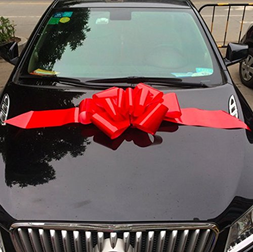 """Giant 23"""" Ribbon Bows For New Cars, Weddings"""