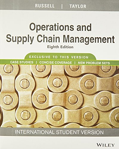 operations management russell and taylor 7th edition pdf