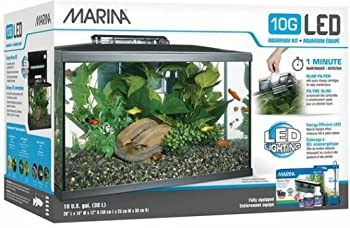 Marina LED Aquarium Kit 10 Gallon