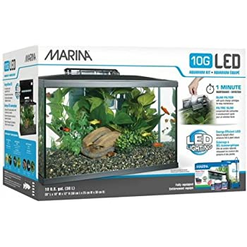 Marina LED Aquarium Kit, 10 Gallon