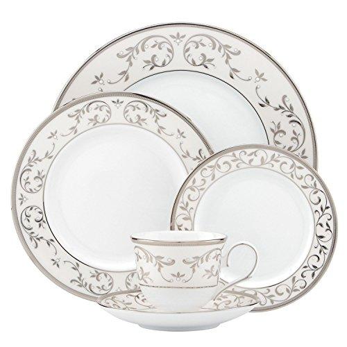 Lenox Opal Innocence Silver 5-Piece Place Setting by Lenox