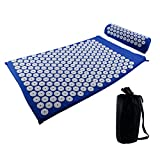 SUHAPPY Massager Cushion Acupuncture Sets Pad/Pillow Massage Yoga Mats Rose Massage Mats