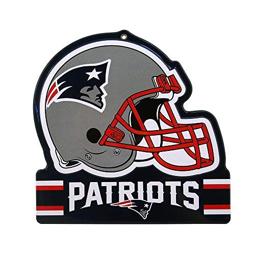 - Party Animal New England Patriots Embossed Metal NFL Helmet Sign, 8