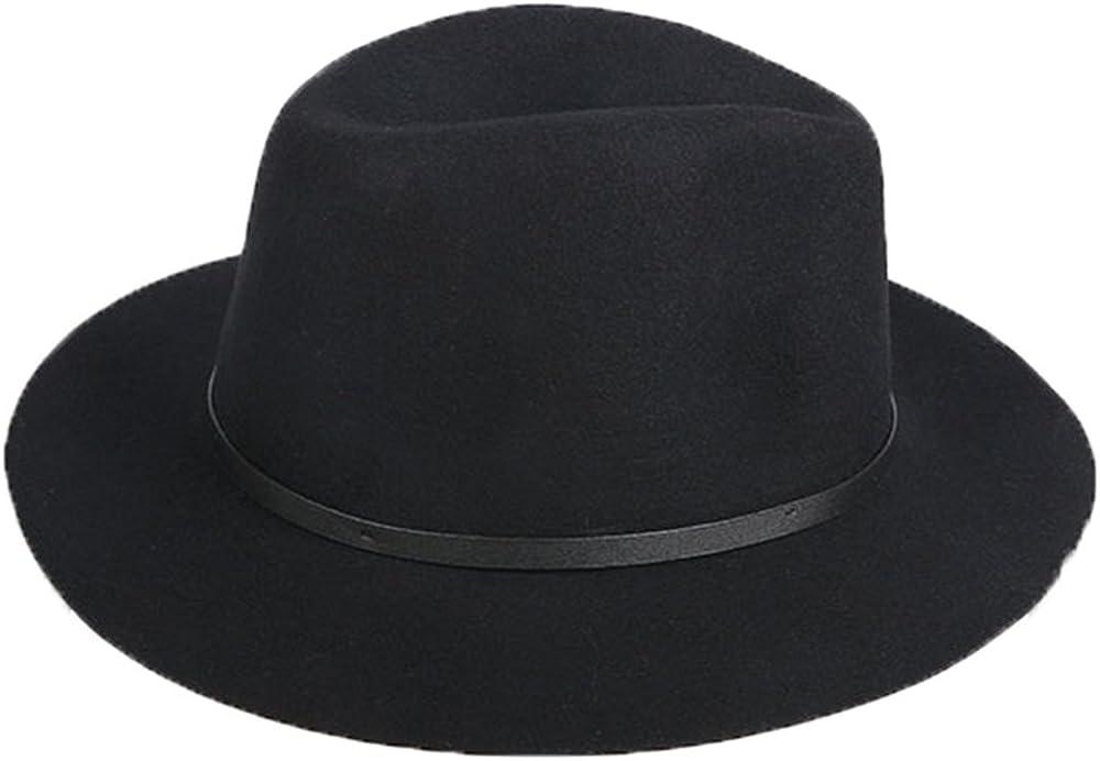 retro cappello di jazz Trilby Cammello Colore doublebulls hats Donna Moda autunno-inverno