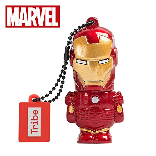 Tribe Marvel The Avengers Pendrive Figure 16GB USB Flash Drive 2.0 Memory Stick Data Storage - Iron Man (FD016504) -