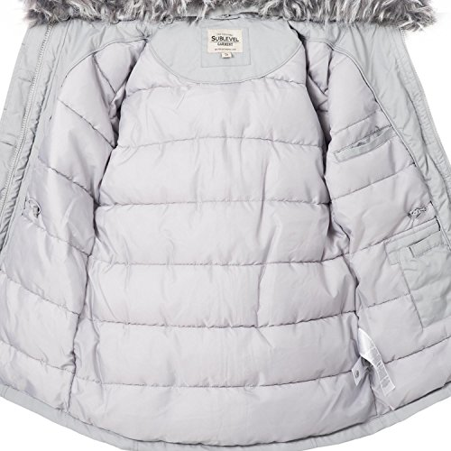 Jacket Grey Sublevel Small Women's Light AwvTqSa