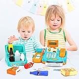 WloveTravel Toy Cash Register for Kids, Kids