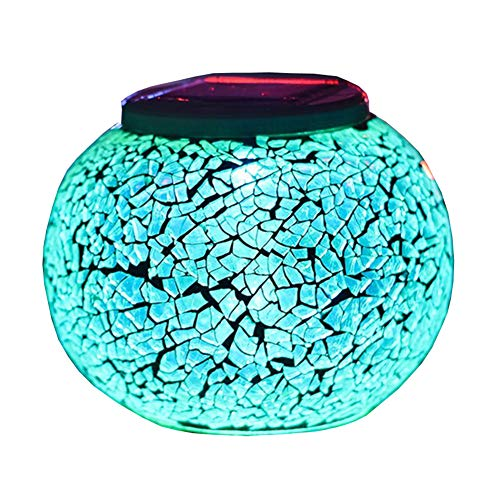 Mosaic Globe Solar Lights in US - 7