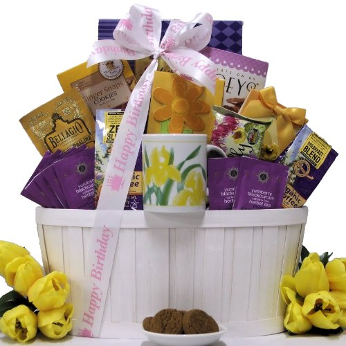 Great Arrivals Coffee and Tea Birthday Gift Basket, Zen Blend