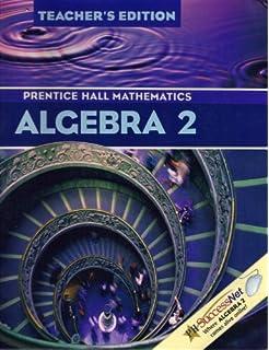 Amazon prentice hall math algebra 2 student edition algebra 2 prentice hall mathematics teachers edition fandeluxe Choice Image