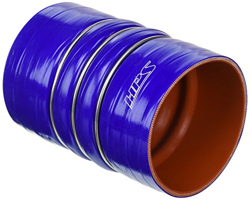 HPS CAC-400-COLD Silicone High Temperature 4-ply Reinforced Charge Air Cooler CAC Hose Cold Side, 100 PSI Maximum Pressure, 6