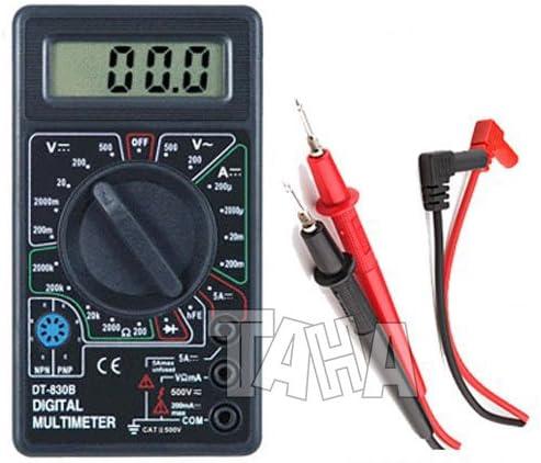 Dt830b Lcd Digital Multimeter Spannungsprüfer Elektronik