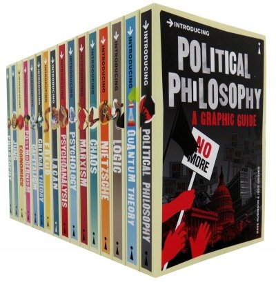 A Graphic Guide Introducing 16 Books Collection Set (Series 1 And Series 2) (Freud 1 16)
