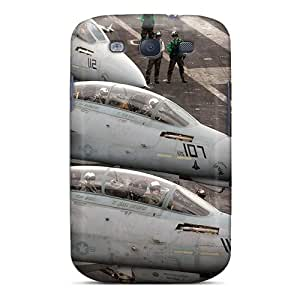 Fashionable Style Case Cover Skin For Galaxy S3- Three Tomcats At Alert 5