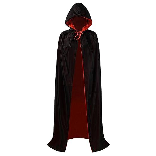 iShine Vampiro Dracula Capa Cabo para Adultos Halloween ...