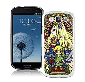 Personalized Case Legend Of Zelda Samsung Galaxy S3 I9300 Case in White