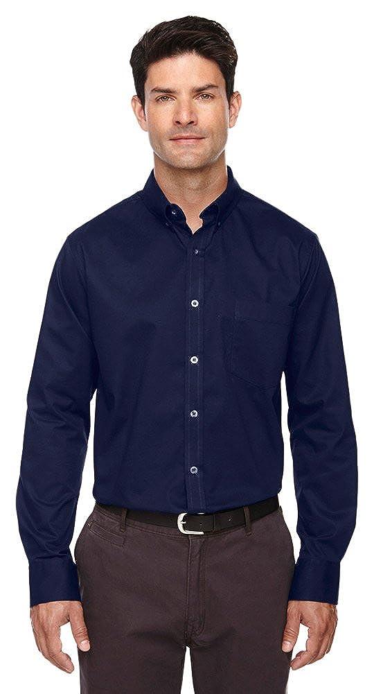 Ash City Core 365 Mens Tall Operate Long-Sleeve Twill Shirt
