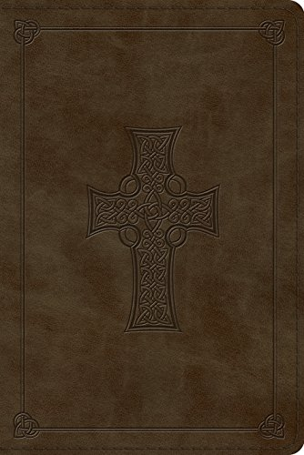 ESV Personal Reference Bible (TruTone, Olive, Celtic Cross Design) (Celtic Bible Esv Cross)