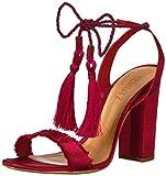 Schutz Women's Primm Sandal, Scarlet, 8.5 M US