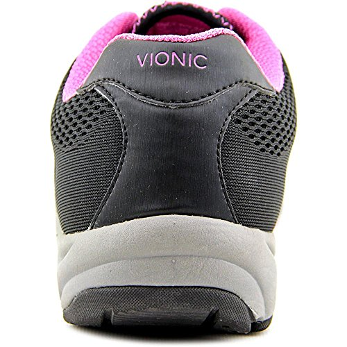 Vionic Womens Action Emerald Lace Up Athletic Sneaker Shoes, Black, US 6.5 by Vionic (Image #1)