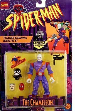 Spiderman - the Chameleon Figure by Spider-Man