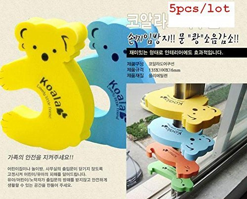 Cartoon Animal Baby Kids Toddler Child Safety Care Security Door Stopper Corner Protector Finger Guards Protection bebo dekoracio produkto by Pbaby (Image #3)