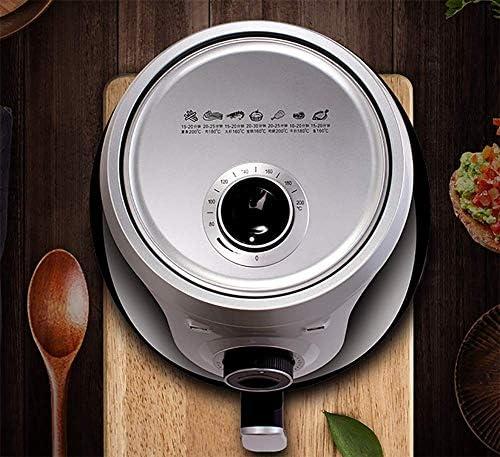 Air Fryer, 4.5QT Electric Hot Air Friteuses Oven Oilless Cooker, 7 Presets, Verwarm Shake Herinnering, Nonstick mand, 1300W, B eternal
