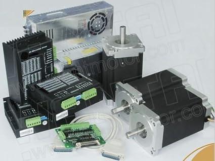 Amazon.com: Gowe 3 Axis NEMA 34 motor paso a paso 1600oz ...