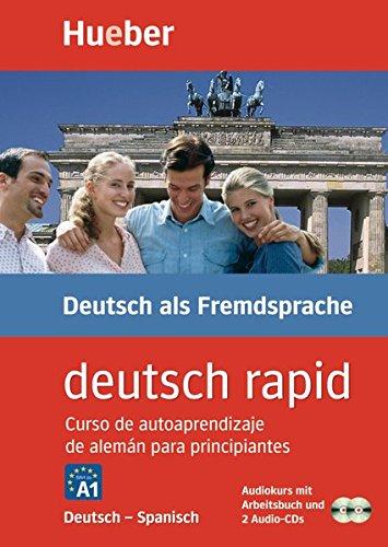 Deutsch rapid, 2 Audio-CDs m. Begleitbuch, Deutsch-Spanisch