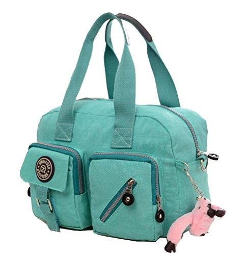 Green Show Shoulder Nylon Bag Messenger Rose Bag Yan Package Women's Handbag Leisure Red U7qnId