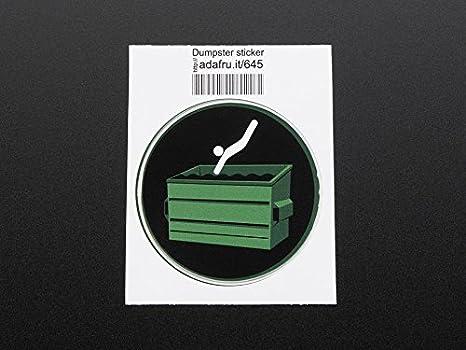 AdaFruit basurero de Buceo de Vinilo para Ordenador portátil: Amazon.es: Informática