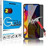 Innens LG V40 / LG V40 ThinQ Privacy Screen Protector Anti Spy Tempered Glass Screen Protector [9H Hardness] (2 Pack)