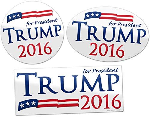 Vipergraphics-Donald-Trump-for-President-2016-Bumper-Stickers-Super-3-Pack