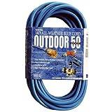 Southwire 02368-06 16/3 50-Foot Hi-Vis Low Temp Winter Extension Cord (Blue)