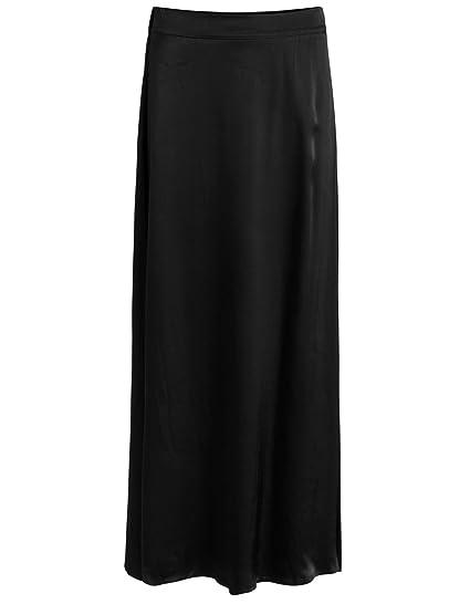 031d3e3db11 VILA CLOTHES Smooth Long Skirt VIMILANA Pink  Amazon.co.uk  Clothing