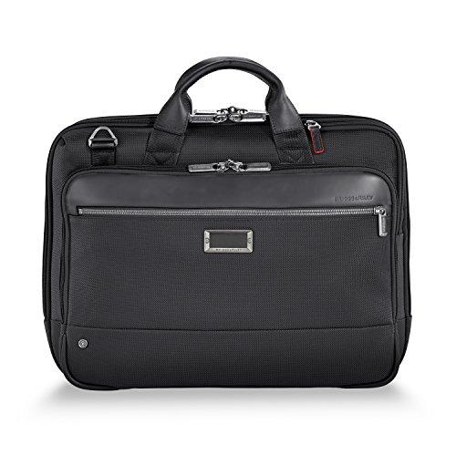 Briggs & Riley @work Medium Briefcase, Black