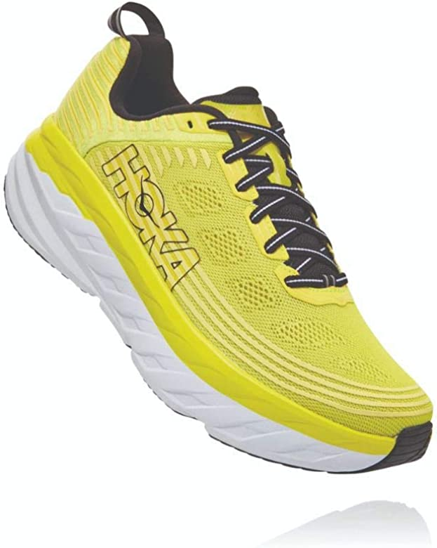hoka Bondi 6 Amarillo Blanco 1019269CATH: Amazon.es: Zapatos y ...