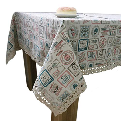 RubyShopUU Korean Small Kettle Fresh Linen Universal Tablecloth/Table Cover Coffer Dinner Tea Table Cloth Cover Towels Picnic Place Mat