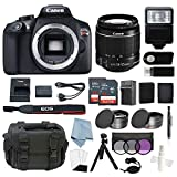 Cheap Canon EOS Rebel T6 Bundle With EF-S 18-55mm f/3.5-5.6 IS II Lens + Deluxe Accessory Kit – Including EVERYTHING You Need To Get Started