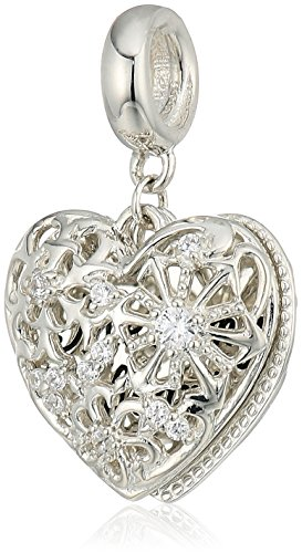 Chamilia Heart (Chamilia Melt My Heart Locket - Swarovski Zirconia Charm Duo Charm)