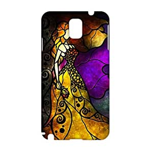 Fortune Artistic elegant woman 3D Phone Case for Samsung Galaxy Note3