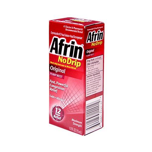 Afrin No Drip Original Pump Mist Nasal Solution by Afrin