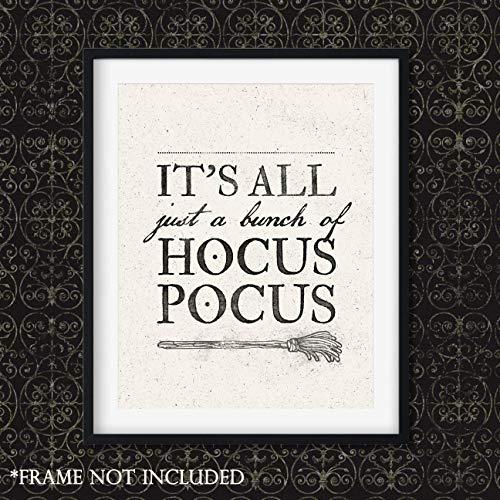 Hocus Pocus Halloween Art Print - Unframed 11x14 Print -