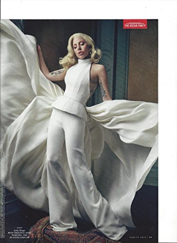 Magazine Photo With Lady Gaga In White Pant - Ladies Photo Suit