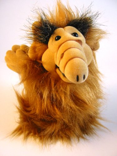 "Vintage Alf 6"" Clip-On Plush Figure"