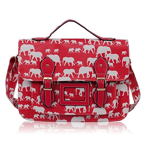 TrendStar - Bolso mochila  para mujer verde P - Green G - Red