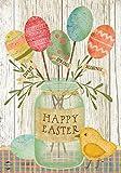 """Briarwood Lane Spring Egg Bouquet Easter Garden Flag Primitive Chick 12.5"""" x 18"""""""
