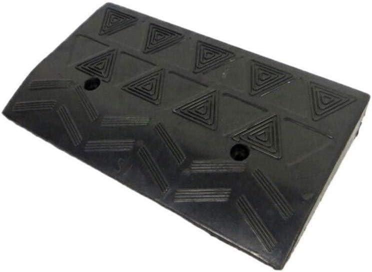 Plástico silla de ruedas Rampa, antideslizante durable del cojín del pedal, Garaje Umbral Umbral de rampa for sillas de ruedas al aire libre Triángulo Pad (Tamaño: 50cm * 27 * 11 cm)